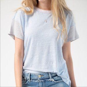 Rag & bone Payton T shirt 100 linen net